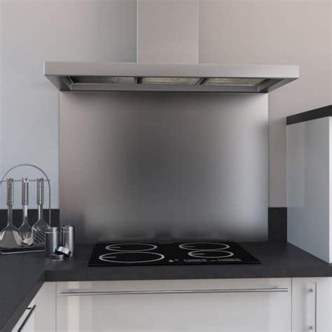 pose hotte cuisine fond de hotte cuisine inox l60 x p65 x e1 1 cm planeko oskab