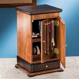 Build Your Own Mitered Jewelry Cabinet Using This Free