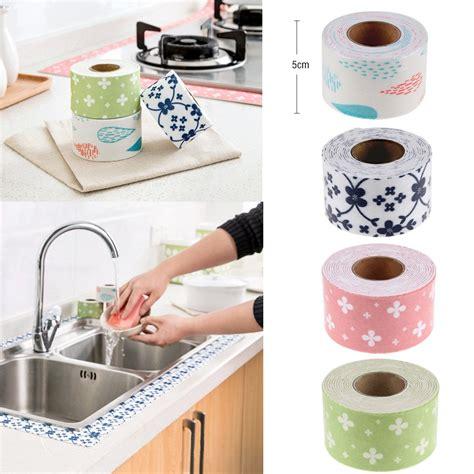 sealant for kitchen sink bath and wall sealing 2 5m sink basin edge trim 5095