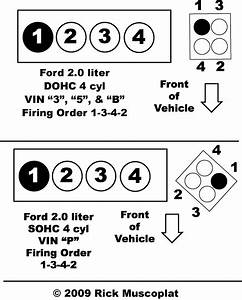 Ford 2 0 Firing Order  U2014 Ricks Free Auto Repair Advice