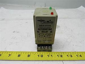 Time Mark 261s Solid State Alternating Relay W  Base 120v