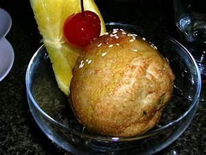 Fried ice cream - Wikipedia