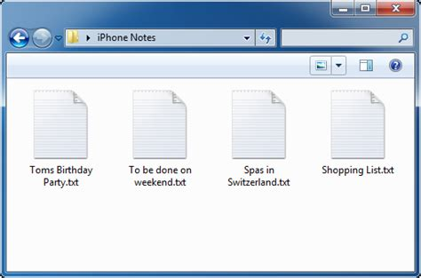 how to save notes from iphone add edit delete and save iphone notes on pc iphone