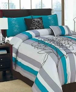 Chd, Textiles, Teal, Olympia, Comforter, Set