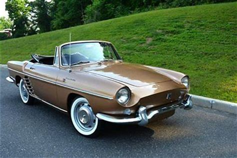 renault caravelle for sale 1959 renault caravelle floride cabriolet with 79k miles