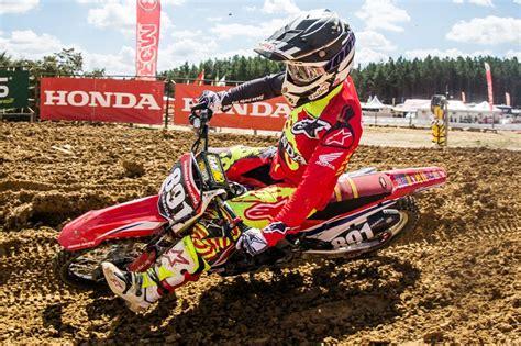 what channel is the motocross race honda racing lidera o brasileiro de motocross 2018 moto