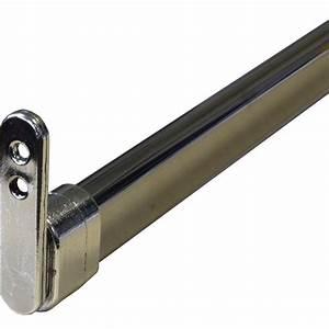 Tringle Pour Dressing : kit barre de penderie extensible supports d30 x 15 mm ~ Premium-room.com Idées de Décoration
