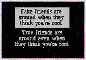 Quotes about Fake Friends for Facebook Status