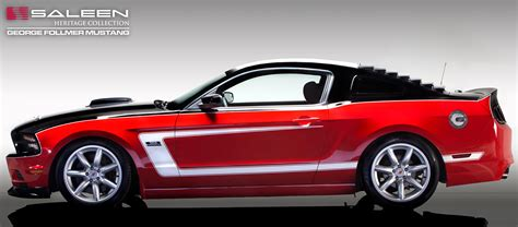 2014 Saleen George Follmer Edition Mustang Unveiled