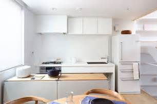 kitchen table island combination japanese inspired kitchens focused on minimalism