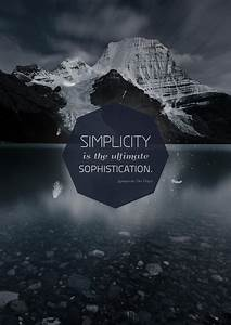 Simplicity, Is, The, Ultimate, Sophistication, By, Igrenic, On, Deviantart