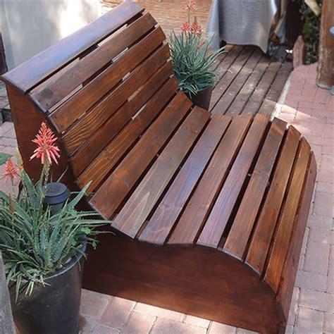 brilliant diy outdoor furniture projects  garden glove