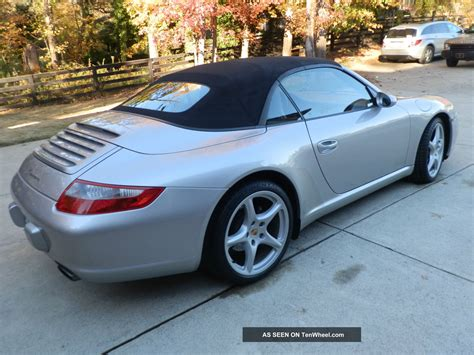 2005 Porsche 911 Carrera Convertible 2 Door 3 6l