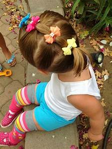Easy hair styles with bows | Baby girl | Pinterest | Easy ...