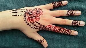 Mehndi Designs for kids | Beautiful Easy and Simple Mehndi ...