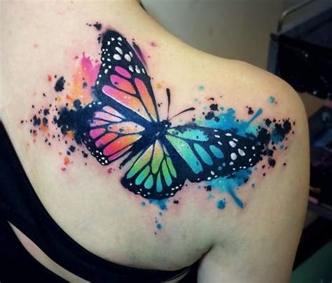 beautiful butterfly tattoos designs  ideas