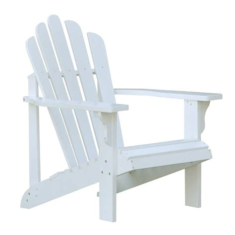 shop shine company westport white cedar adirondack chair