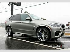 BMW X5 with 22in Savini SV51c Wheels exclusively from