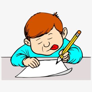 author clipart student writing clip art student writing