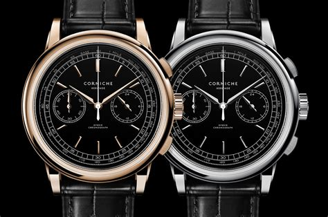 Corniche Watches Introducing The Corniche Heritage Chronograph Classical