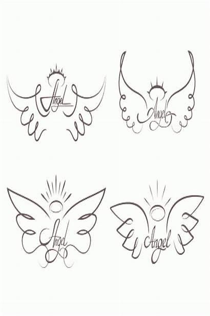 Wings Angel Drawing Angelic