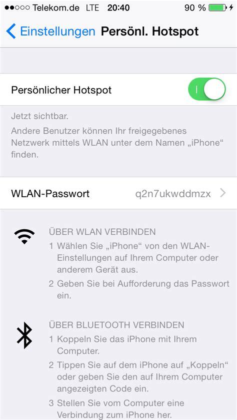 iphone 5 hotspot iphone als hotspot nutzen anleitung f 252 r tethering und modem