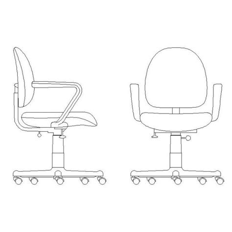 office desk chair cad block cadblocksfree cad blocks free