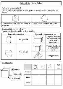 Calcul Volume Litre : exercices les solides ce1 moi math 5 education et math ~ Melissatoandfro.com Idées de Décoration
