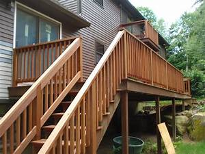 How To Install Outdoor Stair Railing : Code Requirements
