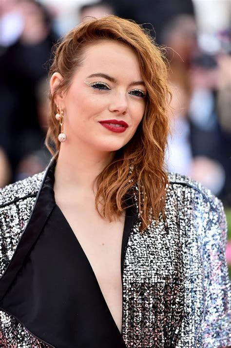Agent emma stone (female special agent: EMMA STONE at 2019 Met Gala in New York 05/06/2019 - HawtCelebs