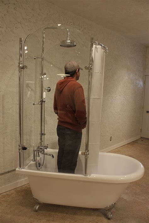 OASIS 59' SHPK - 59'' Extra Wide Classic Clawfoot Shower