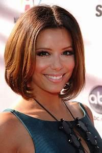 Eva Longoria Hairstyles Best Medium Hairstyle