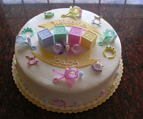 give  baby themed cake unique pregnancy announcements