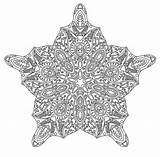 Intricate sketch template