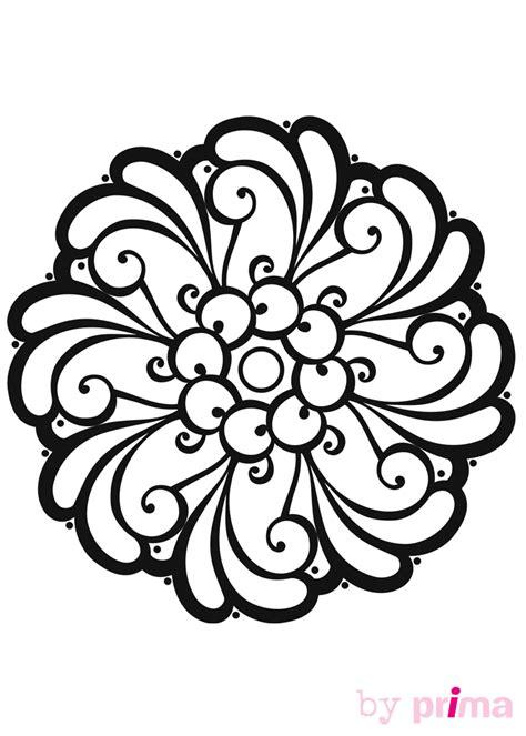 telecharger les jeux de fille de cuisine mandalas à imprimer des rosaces faciles à colorier