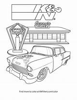 Chevy Coloring Pages Dragster Truck Printable Dirt Diesel Bel Air Pickup Symbol Modified Drawing Getcolorings Getdrawings Colorings sketch template