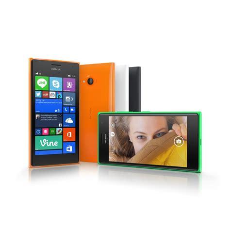 ifa 2014 microsoft intros nokia lumia 730 735 selfie phones with wp 8 1 and lumia denim