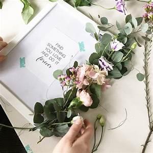 Flower Power Blumen : flower power bloggers diy blumen workshop florale bilderrahmen sophiagaleria ~ Yasmunasinghe.com Haus und Dekorationen