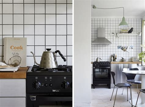 carrelage noir cuisine le joint noir ou gris pour le carrelage joli place
