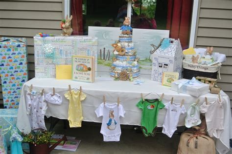 Decorating Ideas For Baby Shower Gift Table by Baby Shower Gift Table My Stuff Gifts