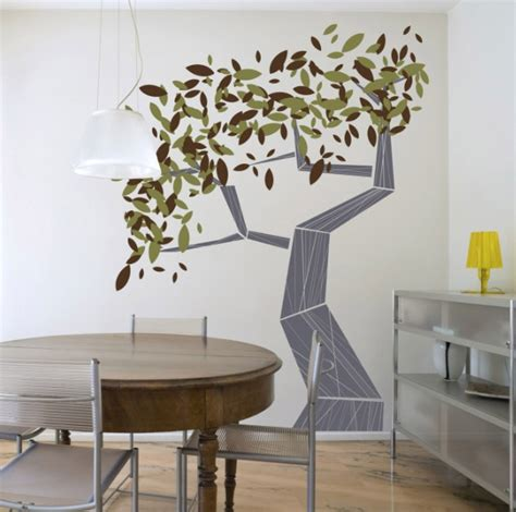Tree Wall Decor Ideas by Wall For Dining Room Ideas And Implementations With
