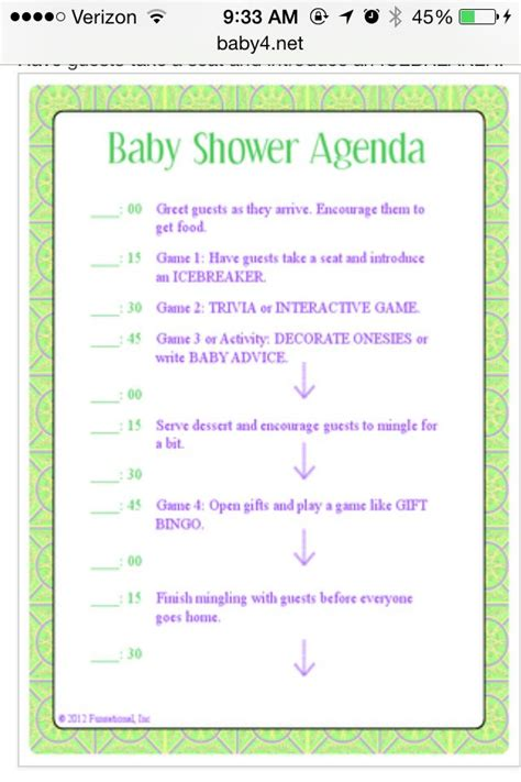 Bridal Shower Itinerary Template Images Of Baby Shower Bridal Shower Itinerary Template Baby Shower Itinerary