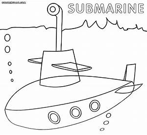 Images of Submarine Coloring Page - #golfclub