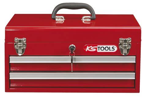 kstools c coffre outils vide avec 2 tiroirs et plateau