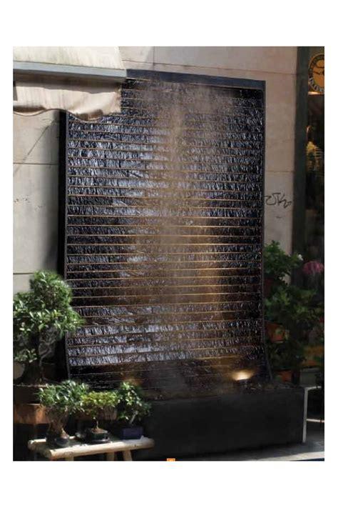 quot c 233 sar black quot fontaine mur d eau l esprit