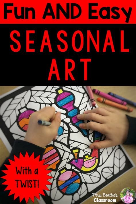 Fun And Easy Stained Glass Art  Mrs Beattie's Classroom
