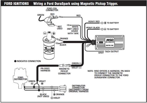 how to install an msd 6a digital ignition module on your 1979 1995 mustang americanmuscle