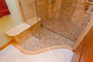 River Rock Bathroom Ideas River Rock Shower With Drain Modern Bathroom Sink And Faucet Parts Other Metro By
