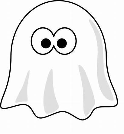 Ghost Cartoon Coloring Printable Sheet Eyes