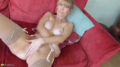 Elegant Stockings And A Garter Belt On The Milf Alpha Porno